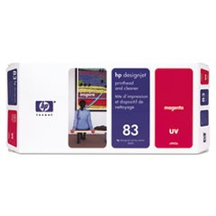 HP 83 (C4962A) UV Magenta Printhead and Cleaner