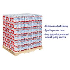 Alpine Spring Water, 16.9 oz Bottle, 35/Case, 54 Cases/Pallet