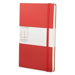 Ruled Classic Notebook, 8 1/4 x 5, Red Cover, 240 Sheets
