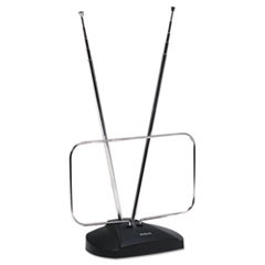 Indoor Digital TV Antenna, Non-Amplified, 40-Mile Range