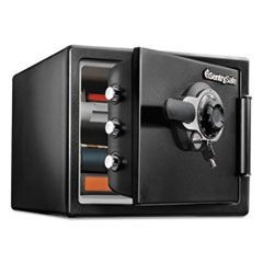 Tubular Key/Combination Fire Safe, .8 ft3,16-11/16w x 19-5/16d x 13-23/32h, Gray