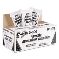 Model Magic Modeling Compound, 8 oz, White, 6 lbs.