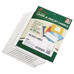 7530015549538 Avery CD/DVD Label Maker Kit, Refills, 50/Pack