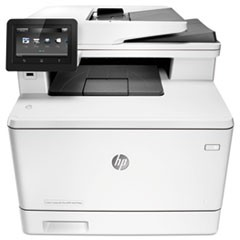 Color LaserJet Pro MFP M477fdw Wi-Fi Multifunction Printer, Copy/Fax/Print/Scan