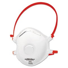 R30 Particulate Respirator Single Valve, N99, White/Red Strap, 10/PK, 8 PK/CT