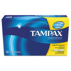 Tampons, Original, Regular Absorbency, 10/Box, 48 Box/Carton
