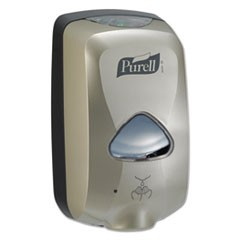 TFX Touch Free Dispenser, 1200mL, Nickel