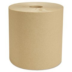 North River Hardwound Roll Towels, Natural, 7 7/8 in x 800 ft, 6/Carton